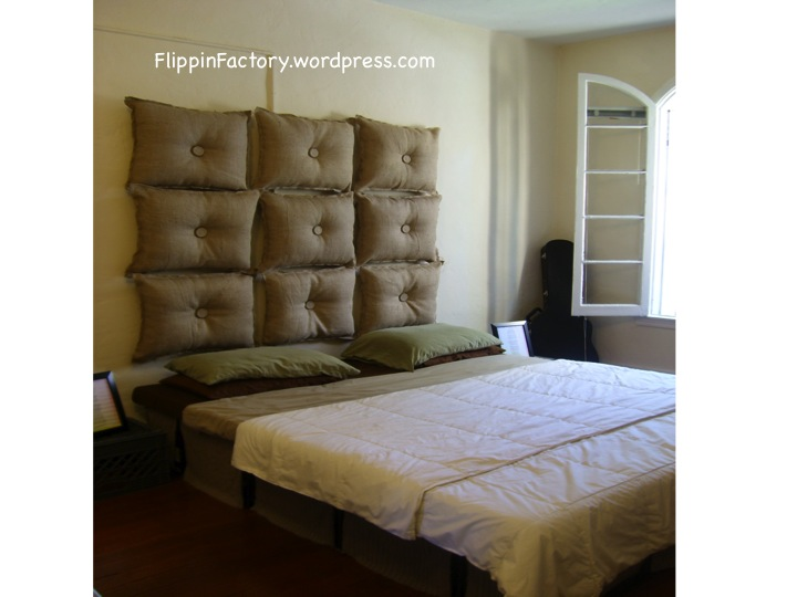 repurposed pillows  headboards, Headboard designs